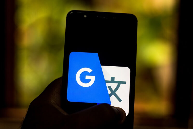 September 01, 2019, Brazil. In This Photo Illustration The Google Translate Logo Is Displayed On A Smartphone